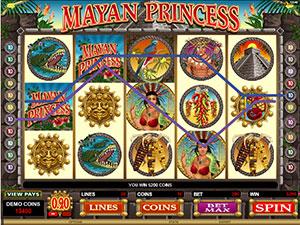 Mayan Sun Slot Game