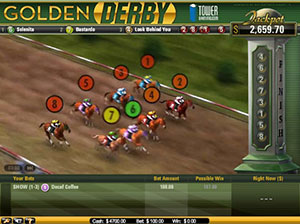 Golden Derby Casino Game