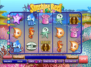 Sunshine Reef Slots Game